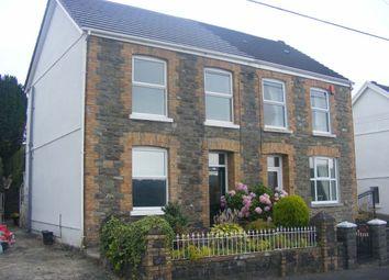 Thumbnail 3 bed semi-detached house to rent in Llannon Road, Pontyberem, Pontyberem, Llanelli