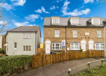 Thumbnail 3 bed end terrace house for sale in Pochard Crescent, Herne Bay