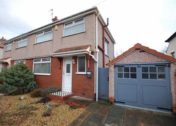 Thumbnail 3 bed semi-detached house for sale in Trevor Drive, Crosby, Liverpool
