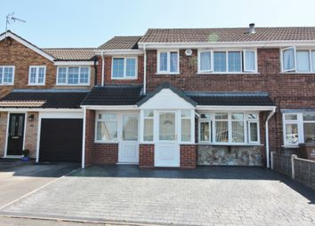 Thumbnail 4 bed semi-detached house for sale in Dursley Close, Willenhall