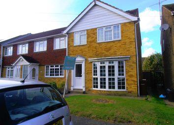 Thumbnail 3 bed property to rent in Lambourne Place, Rainham, Gillingham