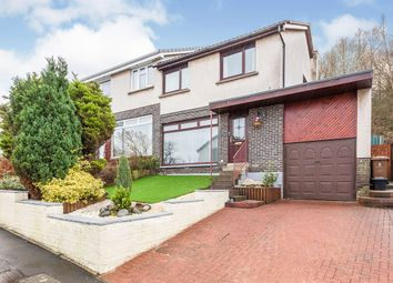 Thumbnail 3 bed semi-detached house for sale in Lawers Crescent, Polmont, Falkirk, Stirlingshire