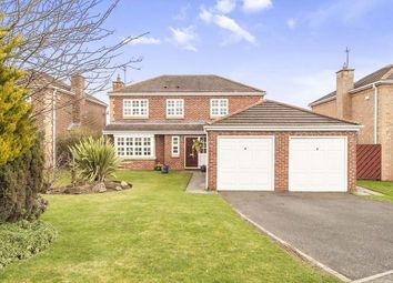 Thumbnail 4 bed detached house for sale in The Parks, Chester Le Street