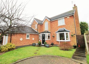 Thumbnail 4 bed detached house for sale in Bluebell Close, Hesketh Bank, Preston