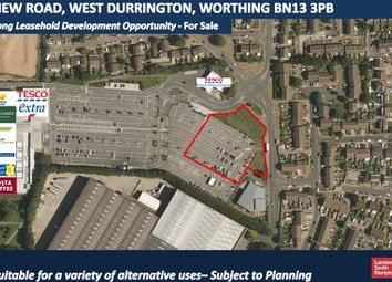 Thumbnail Commercial property for sale in Land At New Road, West Durrington, Worthing