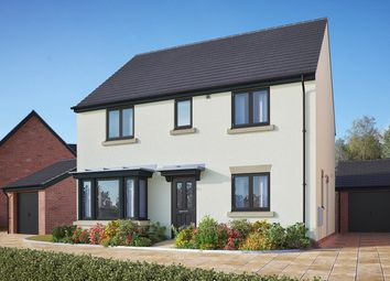 "Thumbnail 4 bed detached house for sale in ""The Pembroke"" at Gidding Road, Sawtry, Huntingdon"