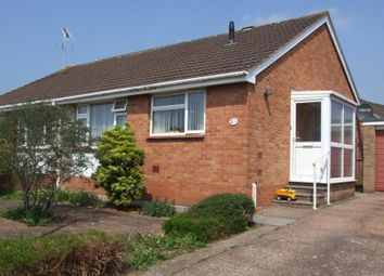 Thumbnail 2 bed semi-detached bungalow for sale in Leofric Road, Tiverton