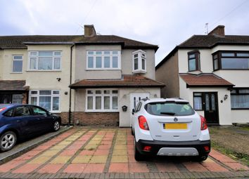 Thumbnail 3 bed end terrace house for sale in Castle Avenue, Rainham