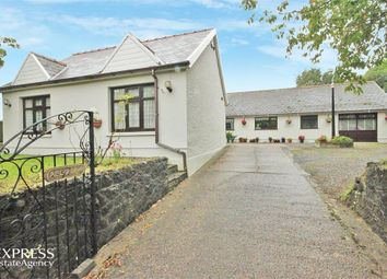 Thumbnail 5 bed detached bungalow for sale in Wernffrwd, Llanmorlais, Swansea, West Glamorgan