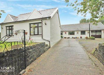 Thumbnail 5 bedroom detached bungalow for sale in Wernffrwd, Llanmorlais, Swansea, West Glamorgan