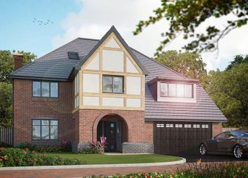 Thumbnail 5 bed detached house for sale in Hillhouse Court, Off New Road, Wingerworth
