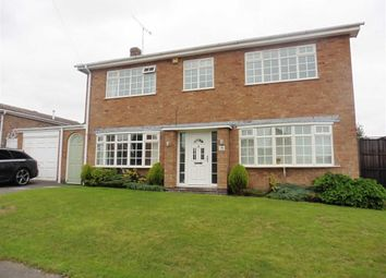 Thumbnail 4 bed detached house to rent in Maple Way, Earl Shilton, Leicester
