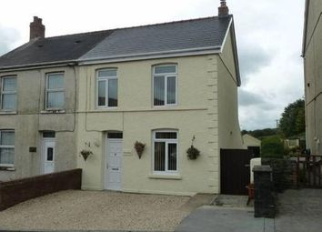 Thumbnail 2 bed semi-detached house for sale in Heol Y Deri, Cwmgwili, Llanelli