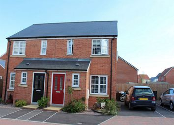 Thumbnail 2 bed semi-detached house to rent in Saffin Drive, Bathpool, Taunton