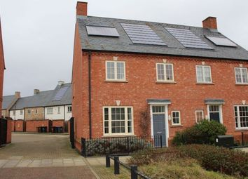Thumbnail 4 bed semi-detached house for sale in Scribers Drive, Upton, Northampton