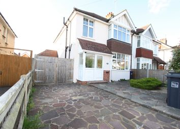 Thumbnail 4 bed terraced house to rent in Gaisford Road, Worthing