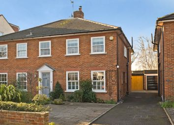 Thumbnail 2 bed semi-detached house for sale in Mostyn Road, London