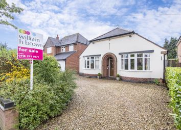 Thumbnail 3 bed bungalow for sale in Woodfield Road, Oadby, Leicester