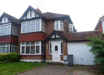 Thumbnail 5 bedroom semi-detached house for sale in Kingsway, Wembley, Middlesex