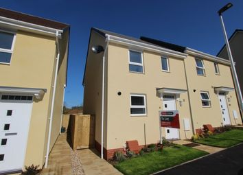 Thumbnail 3 bedroom property to rent in Longwool Run, Cullompton, Devon
