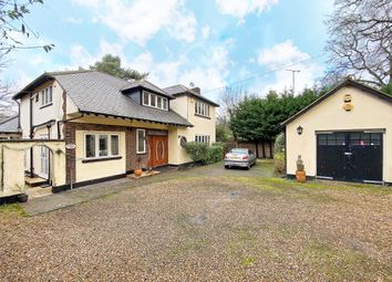 Thumbnail 5 bed detached house to rent in Portsmouth Road, Camberley