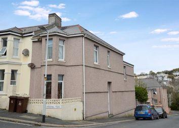 Thumbnail 4 bedroom end terrace house for sale in Furzehill Road, Plymouth, Devon