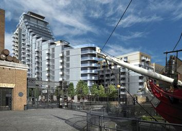 Thumbnail 1 bed flat for sale in Park Vista Tower, 5 Cobblestone Square, London