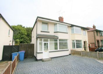 Thumbnail 3 bedroom semi-detached house for sale in Okecampton Road, Childwall