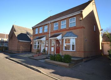 Thumbnail 3 bedroom semi-detached house to rent in Campbell Close, Towcester