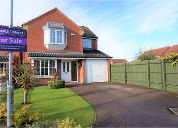 Thumbnail 4 bed detached house for sale in Netherfield Close, Broughton Astley