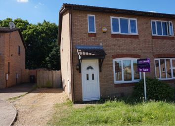 Thumbnail 3 bed semi-detached house for sale in Probyn Close, Northampton