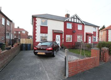Thumbnail 3 bed semi-detached house for sale in Haughton Crescent, Jarrow