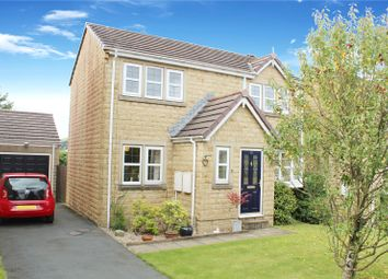 Thumbnail 3 bed detached house for sale in Highfell Rise, Keighley, West Yorkshire