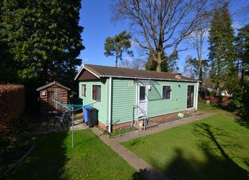 Thumbnail 2 bedroom mobile/park home for sale in Woodland Rise, Grange Estate, Church Crookham, Fleet