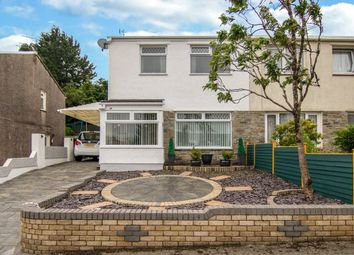 Thumbnail 3 bed semi-detached house for sale in Canterbury Road, Beaufort, Ebbw Vale, Gwent