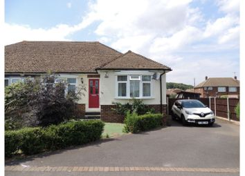 Thumbnail 3 bed semi-detached bungalow for sale in St. Johns Road, Rochester