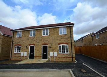 Thumbnail 3 bed semi-detached house for sale in Fen Lane, Sawtry, Huntingdon