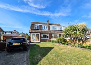 Thumbnail 3 bed semi-detached house to rent in Shakespeare Avenue, Rayleigh, Essex