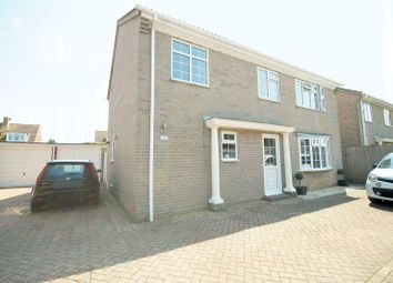Thumbnail 4 bed detached house for sale in Ithica Close, Hayling Island
