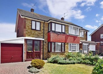 Thumbnail 3 bed semi-detached house for sale in Ariel Close, Gravesend, Kent