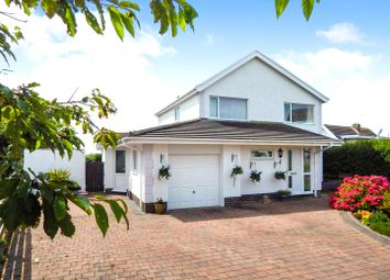 Thumbnail 4 bed detached house for sale in Deepslade Close, Southgate, Swansea
