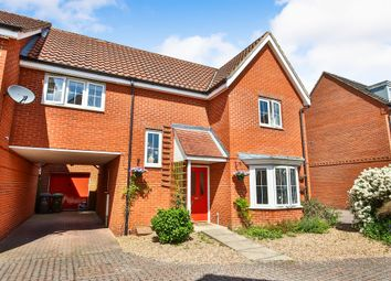 Thumbnail 3 bedroom link-detached house for sale in Windsor Park Gardens, Sprowston, Norwich