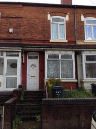 Thumbnail 2 bed terraced house to rent in Nineveh Road, Handsworth