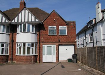 Thumbnail 4 bed semi-detached house to rent in Hagley Road, Edgbaston