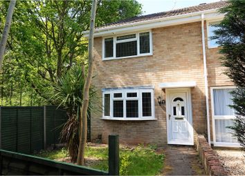 Thumbnail 3 bed end terrace house for sale in Turnstone Gardens, Lordswood, Southampton