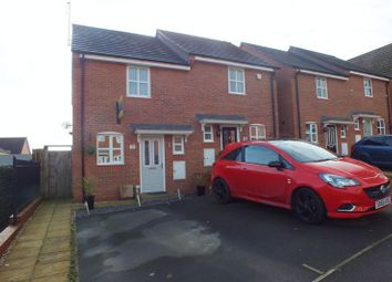 Thumbnail 2 bedroom end terrace house for sale in Rushall View, Brindley Village, Stoke-On-Trent