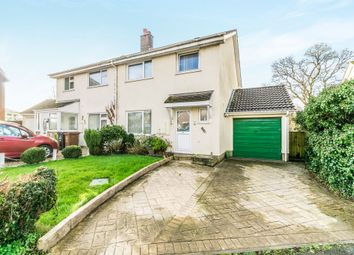 Thumbnail 3 bed semi-detached house for sale in Paddock Drive, Ivybridge