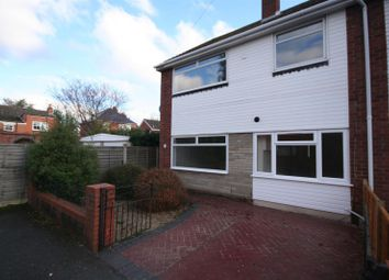 Thumbnail 3 bedroom semi-detached house to rent in Hampton Close, Worcester