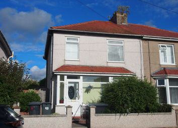 Thumbnail 3 bed semi-detached house for sale in Yealand Avenue, Heysham, Morecambe