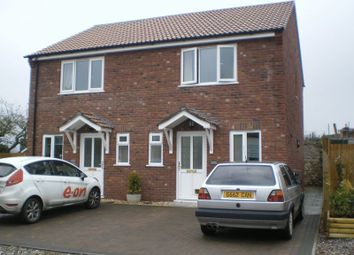 Thumbnail 2 bedroom semi-detached house to rent in Culmstock Road, Hemyock, Cullompton